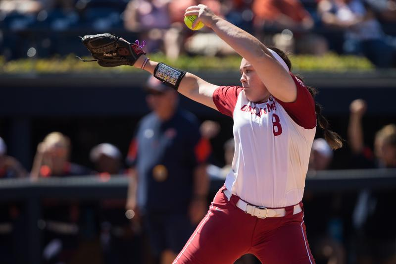 Paige Parker, a Truman High School graduate, was voted the Most Outstanding Player last year when the Oklahoma Sooner won the NCAA softball championship.