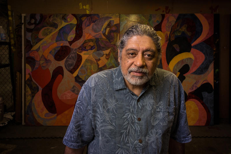 Artist José Faus is a mainstay in Kansas City's arts scene, a mentor to young kids and a painter of Kansas City murals. But he still longs for home.