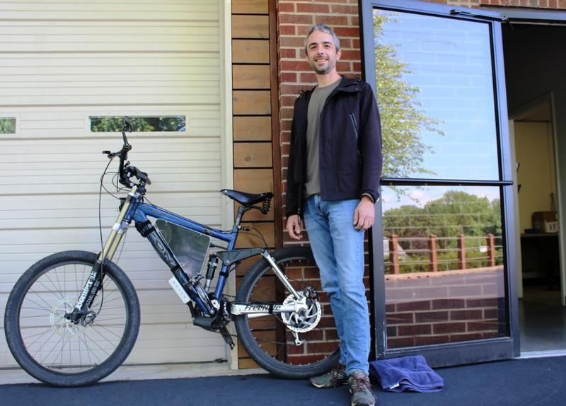 Dave Abadie is a computer programmer by trade — and he has a passion for e-bikes.