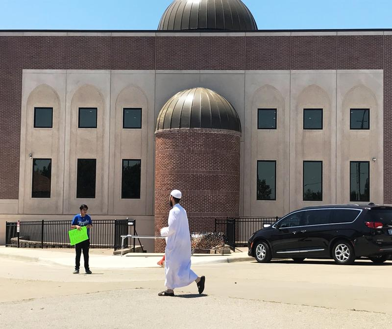 The new mosque at the Islamic Center of Johnson County officially opened Friday.
