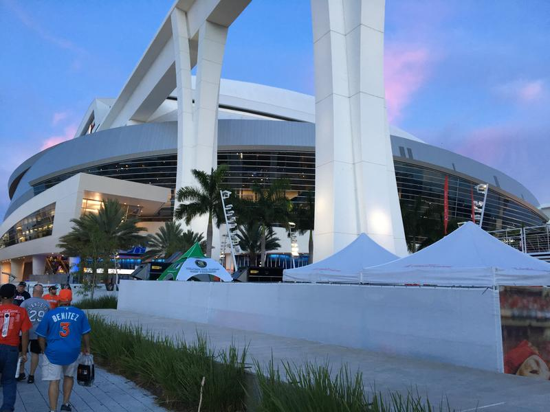 Marlins Park in Miami, Florida, is the centerpiece of the 88th MLB All-Star Game. The Royals could pick up trades as they fight for a spot in the playoffs.