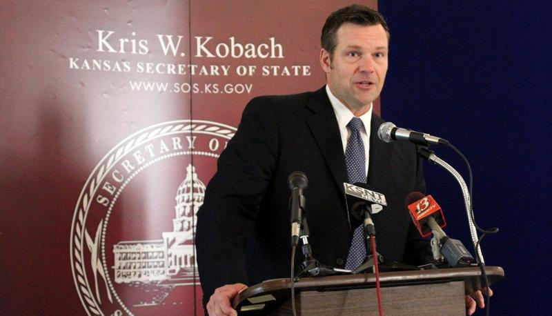 The ACLU of Kansas  wants Kansas Secretary of State Kris Kobach to change the wording about voter registration on the Kansas Secretary of State's website.