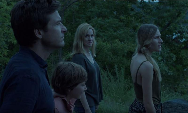 Jason Bateman, Skylar Gaertner, Laura Linney and Sofia Hublitz in 'Ozark.'