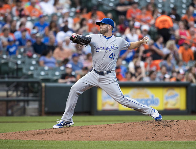 Royals pitcher Danny Duffy was cited for a DUI Sunday night in Overland Park, Kansas.
