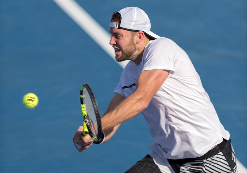 Jack Sock won his third career singles title in February at the Delray Beach Open.