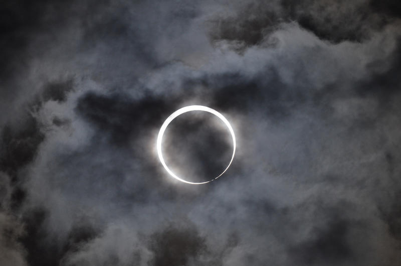 The average period of time between two solar eclipses in a single location is 375 years, according to Angela Speck, an astronomer at the University of Missouri.