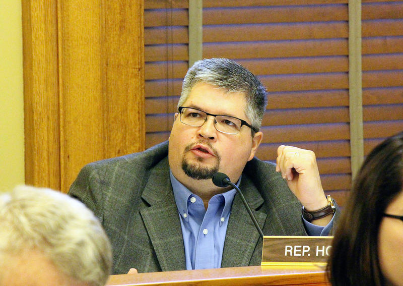 Rep. Kyle Hoffman, R-Coldwater, a member of the Legislature's Joint Committee on Information Technology, and other lawmakers are concerned about the January launch of a troubled driver's license IT project.