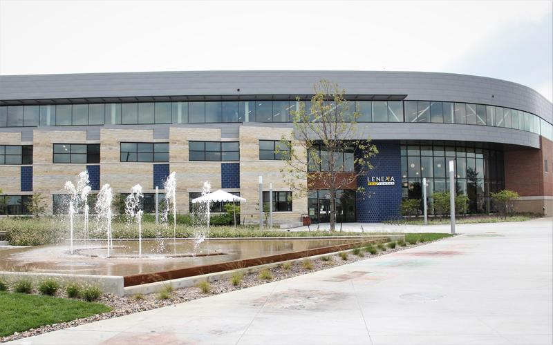 Lenexa's new recreation center was funded by a sales tax increase.