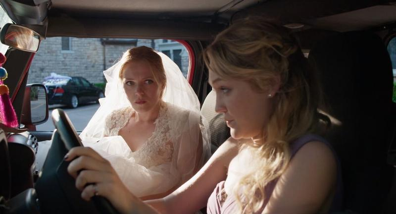 Emma Bell (left) and Hope Lauren star in 'Different Flowers,' which was filmed in and around Kansas City.