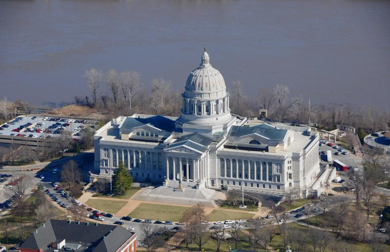 The Missouri Capitol in Jefferson City