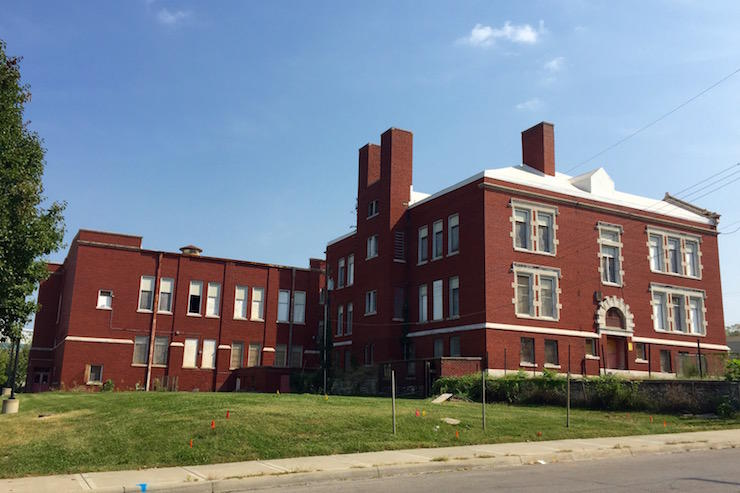 The historic Attucks School was opened in 1905 but has been vacant for more than 15 years.