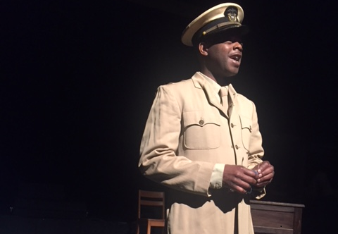 George Forbes is one of the actors in the Black Repertory Theatre of Kansas City's production of 'A Soldier's Story.'