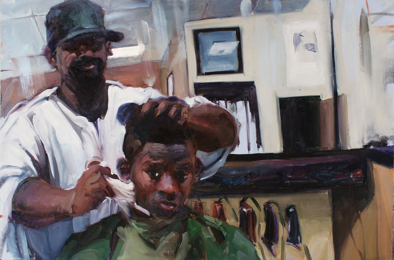 An illustration from 'Crown: An Ode to the Fresh Cut.'