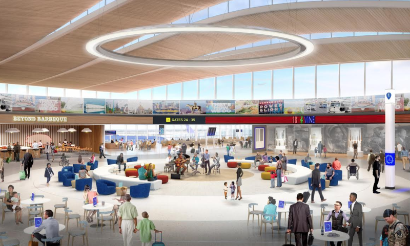 The Kansas City Council got back to work negotiating a development agreement with Edgemoor Infrastructure and Real Estate on the KCI terminal project Thursday.