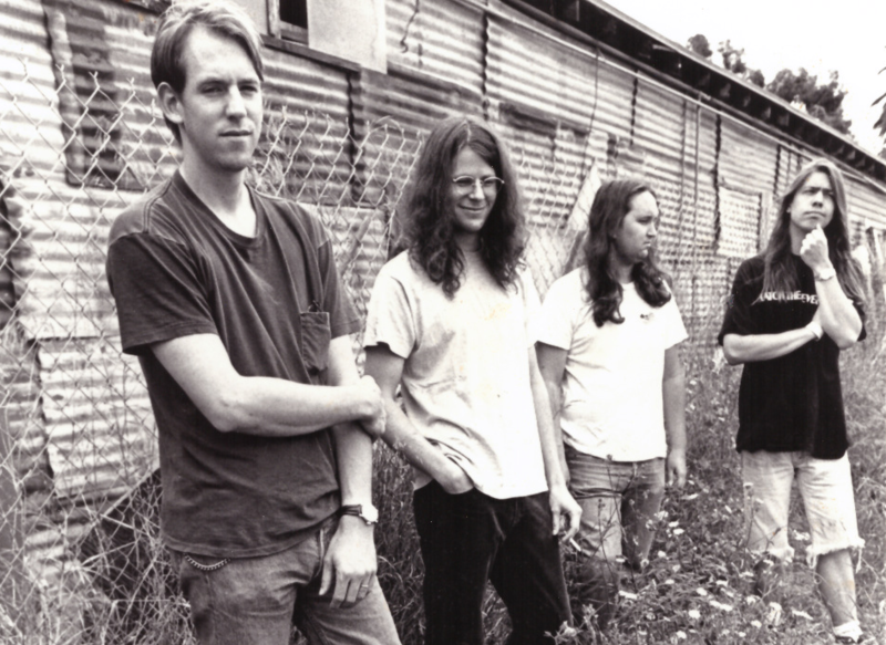 Matt Mozier, Brad Huhmann, Rich Yarges and Eric Melin in an undated promotional picture from Scotti Brothers records.