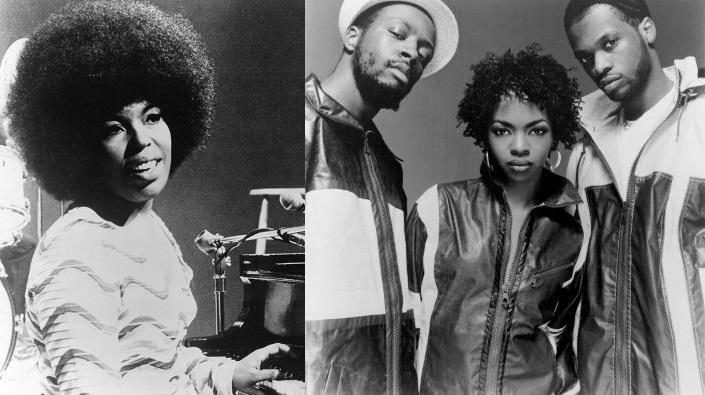 """After Lori Lieberman wrote and recorded """"Killing Me Softly with His Song"""" in 1971, Roberta Flack, left, made a splash with her own rendition of the song. The Fugees, right, had a huge (and terminal) hit with the composition more than 20 years later."""