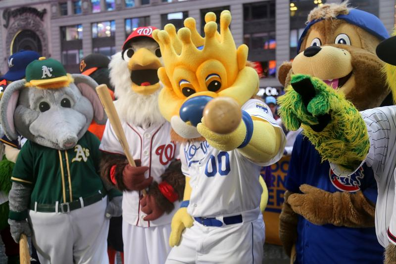 The Kansas City Royals' mascot, Sluggerrr, is a 2017 inductee to the National Mascot Hall of Fame, along with Chicago's Benny the Bull and Tommy Hawk, and Nittany Lion of Penn State University.
