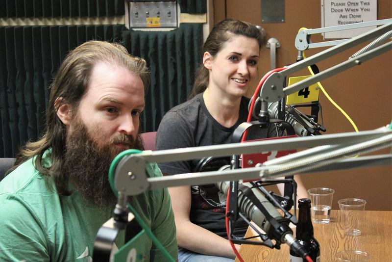 Randy Strange, Crane Brewing's head brewer, and KC Bier Co. beer scientist and brewer Elizabeth Belden say beer makes for a great holiday beverage.