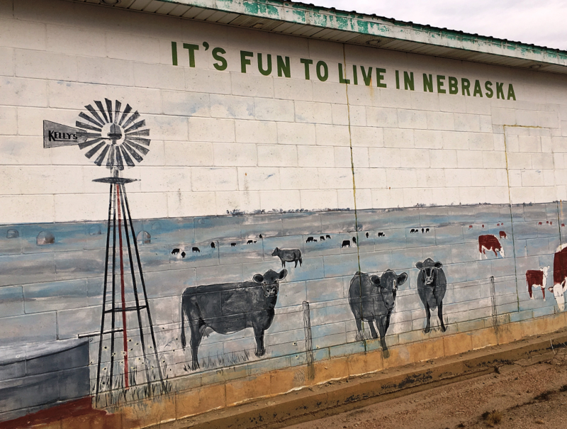 The Holt County Economic Development Fund helped bring a huge wind farm to this part of northeastern Nebraska and kept an ethanol plant from closing. It also awards grants to help businesses spruce up their properties an publicizes job openings.