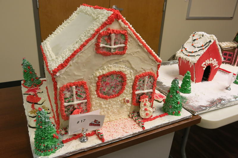 Many of the gingerbread houses are headed to Union Station, where they'll be displayed through Christmas.