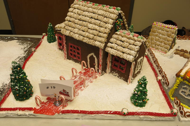 The public will be able to vote for their favorite gingerbread houses. The top student bakers win prizes.