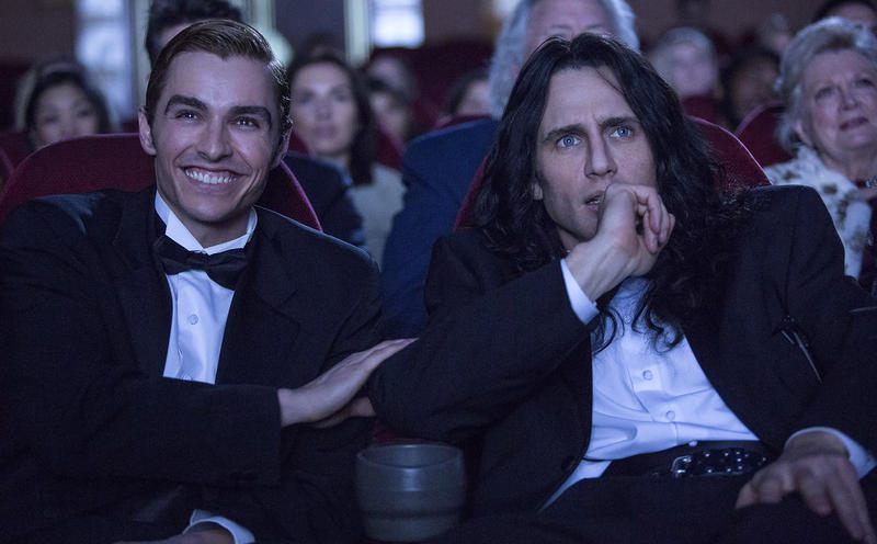 Brothers Dave and James Franco, right, star as foils in 'The Disaster Artist,' about the making of what's surely a contender for the best worst movie of all time.