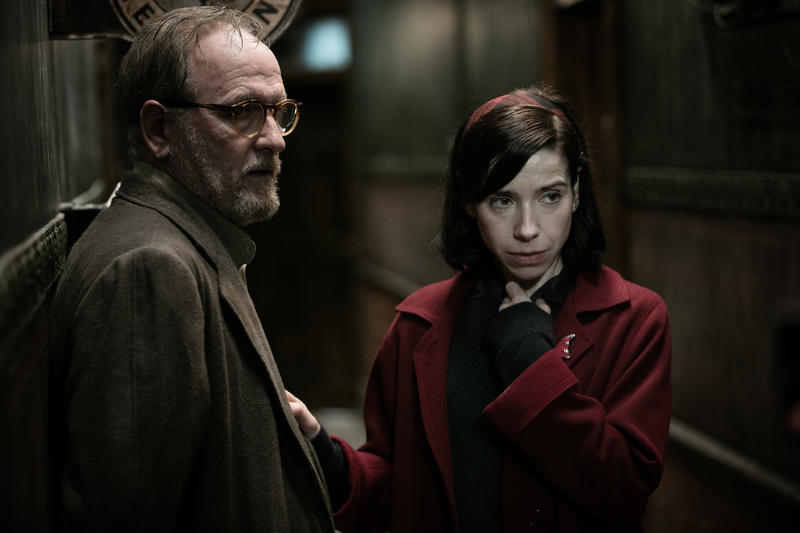 Richard Jenkins and Sally Hawkins team up in Guillermo del Toro's dark fantasy 'The Shape Of Water.'