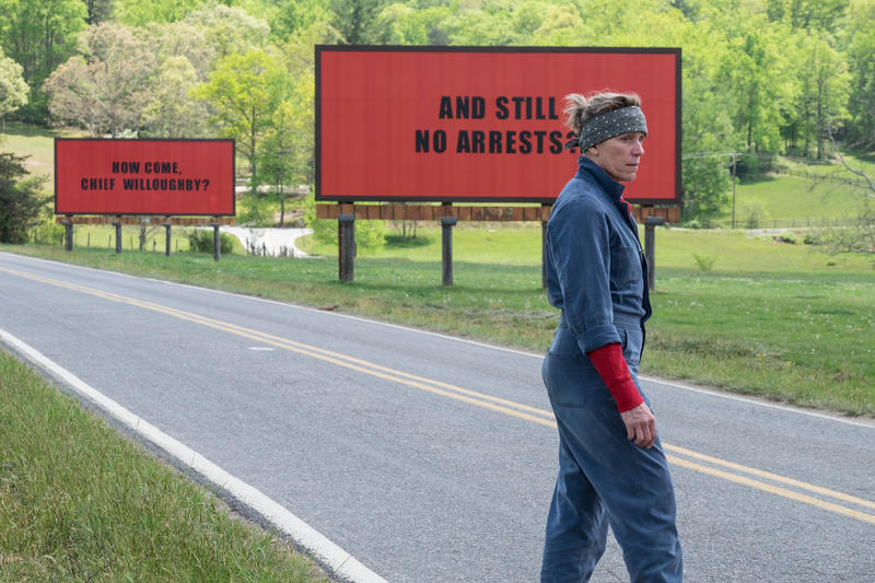 Frances McDormand plays aggrieved mother Mildred Hayes in 'Three Billboards Outside Ebbing, Missouri.'