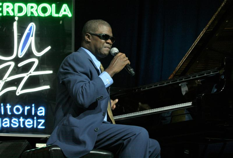 Pianist Marcus Roberts lost his sight at the age of 5, and subsequently taught himself to play piano.