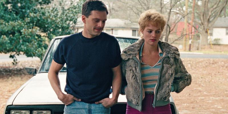 Sebastian Stan, right, and Margot Robbie bring scorned figure skater Tonya Harding's story to the big screen, in Craig Gillespie's 'I, Tonya.'