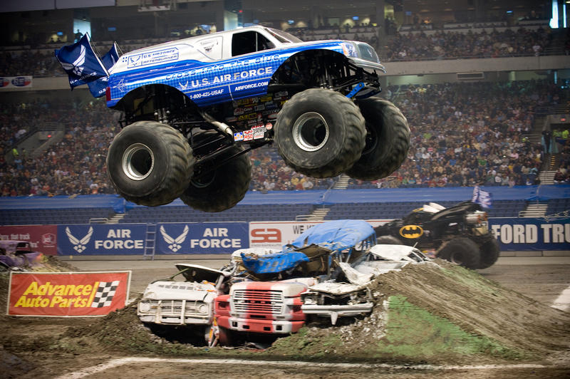 Engines will blare and fans will stare at the unfolding competitive spectacle this weekend at Sprint Center, where drivers will vie for a shot at the Monster Jam World Finals.