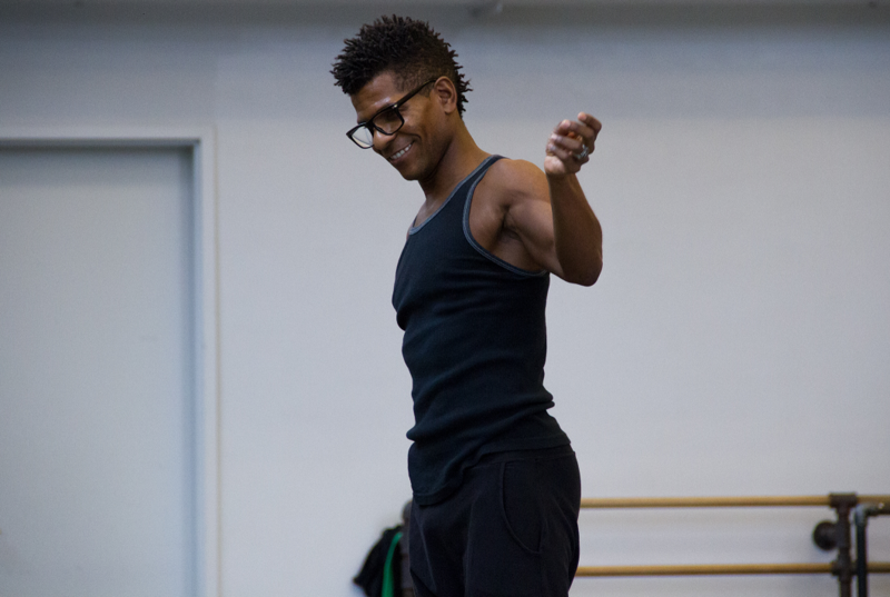 New York-based choreographer Abdur-Rahim Jackson is one of three visiting choreographers in the Kansas City Ballet's New Moves program.