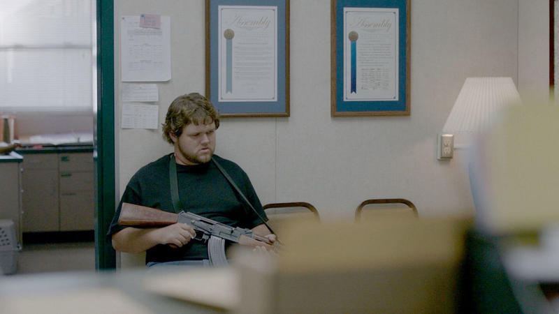 "The 2018 Oscar-nominated short film ""DeKalb Elementary,"" based on true events, follows the story of a mentally unstable man who brings a semiautomatic gun into an elementary school and takes the receptionist hostage."