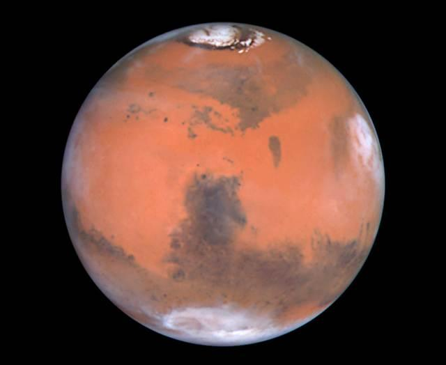 "On terraforming Mars, Futurist Michio Kaku says, ""we're talking about an outpost, a settlement on Mars, just in case something bad happens to the planet Earth."""