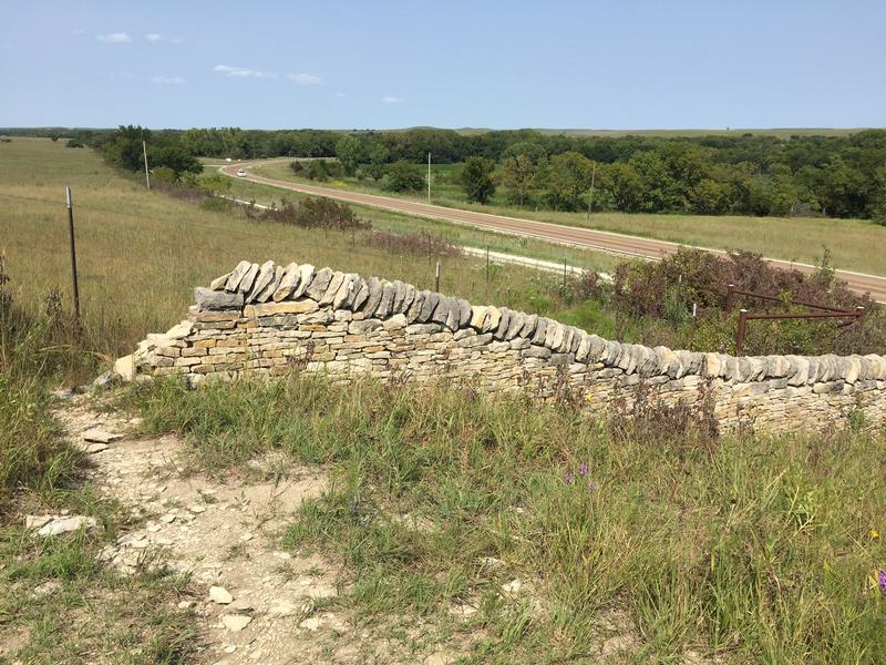 A view along Kansas Highway 177, the Flint Hills Scenic Byway, which is reportedly less middle-of-nowhere than points farther west in the state.