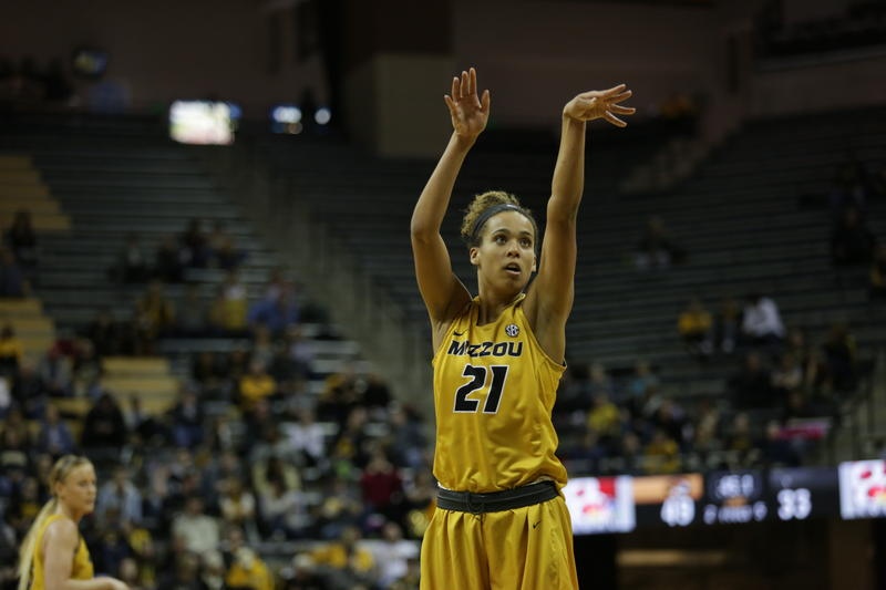 Cierra Porter is a junior forward for the Mizzou women's basketball team, which finished the regular season ranked 17th nationally. The Tigers play Florida Gulf Coast on Saturday in the NCAA Tournament.