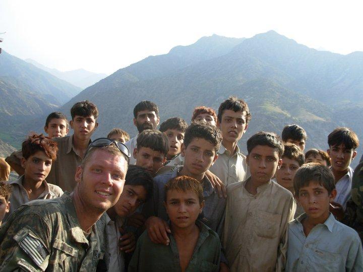 Francis Sommer in eastern Afghanistan, circa 2007.