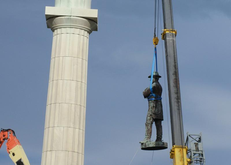 The removal last year of Confederate statues, like this one in New Orleans, sparked debates throughout the country, but was only the latest episode in an ongoing public reckoning with controversial history.