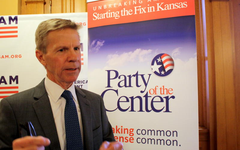 Scott Morgan thinks the fledgling Party of the Center could capitalize on disaffection with Republican and Democratic politics.