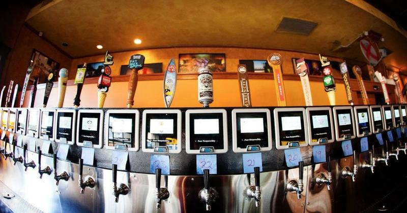 Pour-your-own beer operations, like this one at Kansas City's Ruins Pub, would be OK'd if legislation in the Kansas Statehouse is passed.