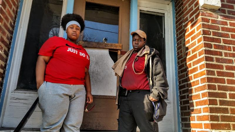 Two years after being evicted, Fran (right) and Rayvn Marion finally found a landlord who would rent to them.