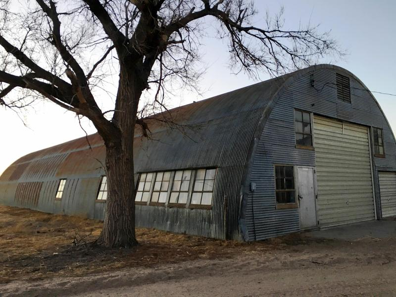 Prosecutors say a plot to kill Muslims was discussed with an informant in this Quonset hut in Wright, Kansas.