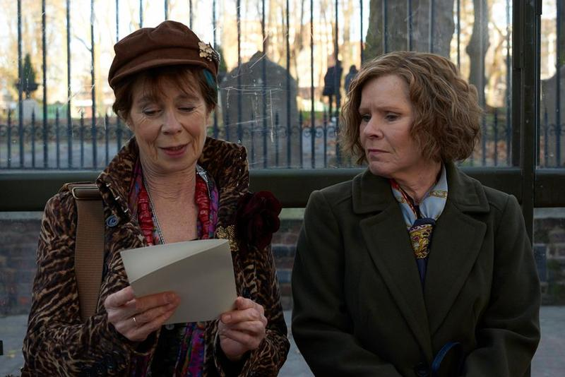 Celia Imrie, right, and Imelda Staunton play a set of sisters who couldn't be more different from each other in Richard Loncraine's 'Finding Your Feet.'