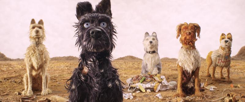 Wes Anderson's stop-motion film 'Isle of Dogs' features an all-star cast, including Edward Norton, Tilda Swinton, and Yoko Ono.
