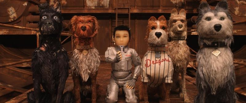 Wes Anderson's 'Isle of Dogs' features the voices of Bryan Cranston, Edward Norton, Bill Murray, Jeff Goldblum and Scarlett Johansson.