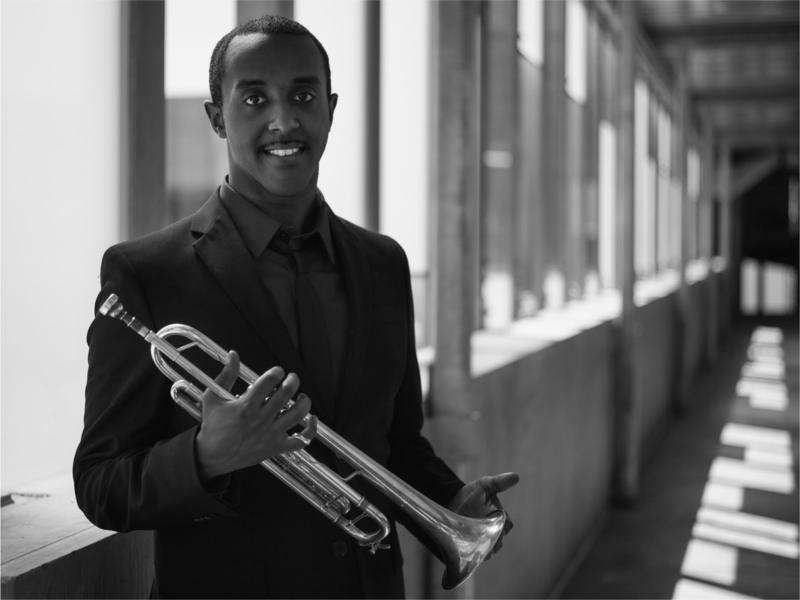 Hermon Mehari earned his Bachelor of Music in jazz performance from the UMKC Conservatory of Music and Dance. He's still based in Kansas City but is often on the road.