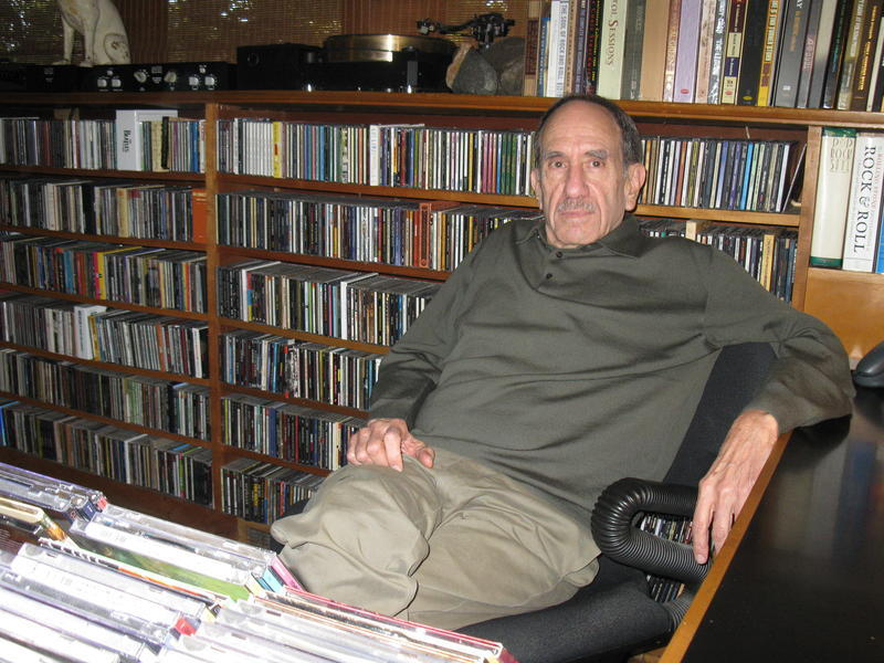 Bill Shapiro, who hosted KCUR's 'Cyprus Avenue' for 40 years, measures his music collection not in numbers of CDs and LPs but in linear feet.