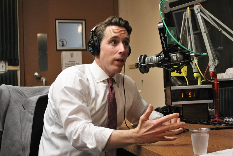 """I've had the chance to get to know (incoming) Gov. Parson pretty well over the last few years,"" Missouri Attorney General Josh Hawley told KCUR's Up To Date on Thursday. He remains upbeat about the state's ability to move on from a turbulent few months."