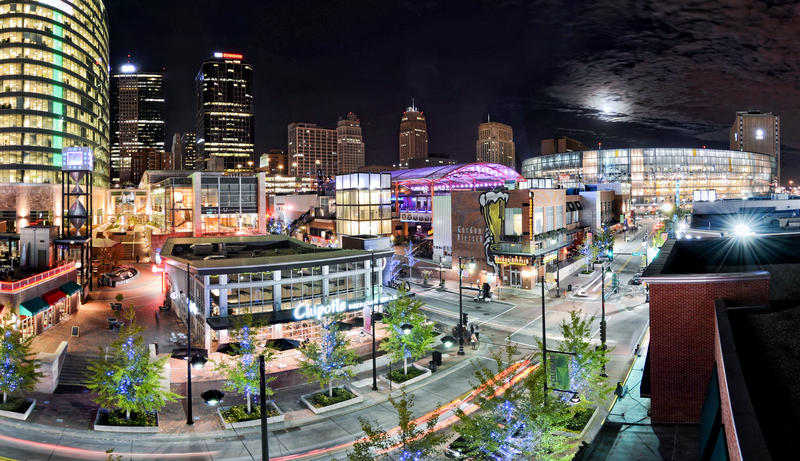 Development in Kansas City's Power and Light district is credited in part to tax increment financing.