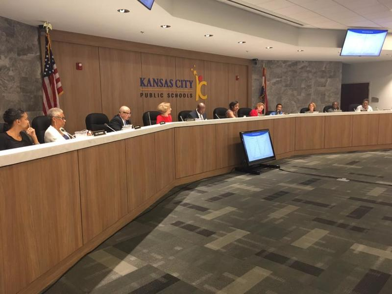The Kansas City School Board discusses adopting a former policy on charter schools at its Aug. 26, 2017 meeting. New election maps could change the balance of power on the board after the April 2019 election.